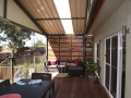 Steel Gable Pergola