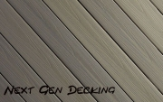 Next Gen composite decking