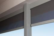 outdoor blinds.
