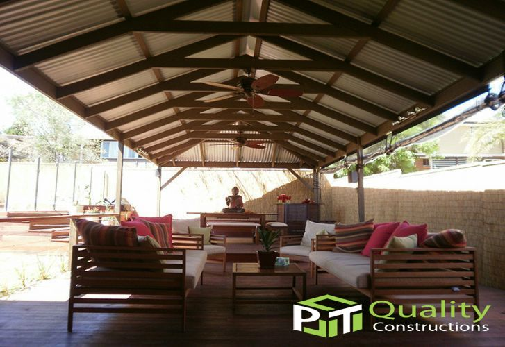 Pitched Pergolas