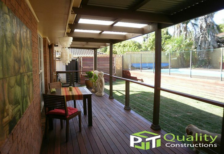 Verandah Timber Deck