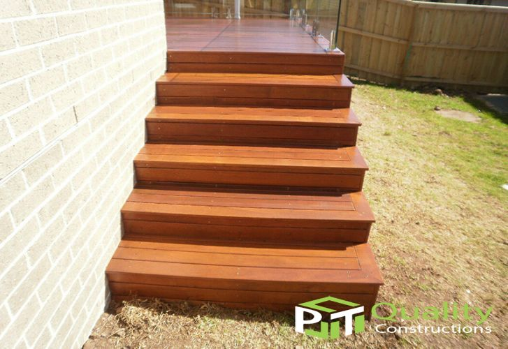 Timber Decking Stairs