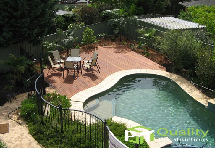 Pool Timber Decking