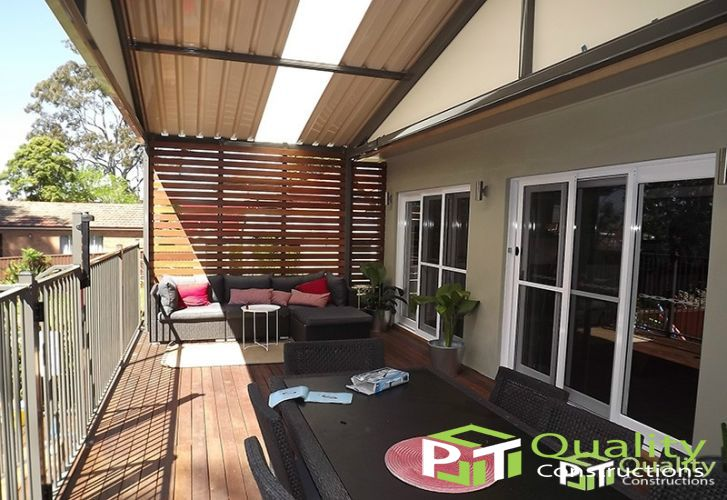 Timber Decking and Pergola