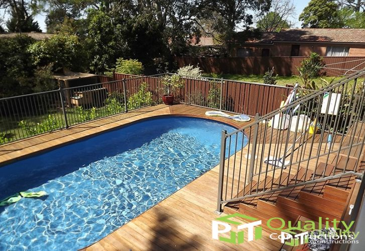 Pool Timber Deck