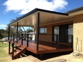 Timber Decking and insulated Patio Roofing