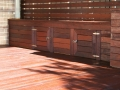Timber Decking Bench Seating