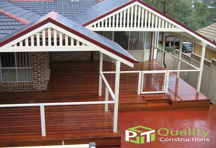 Gable Timber Pergola