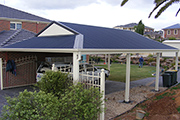 Dutch Gable Carport Sydney