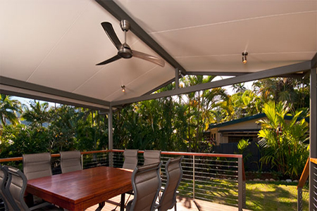 Insulated Pergola Roofing