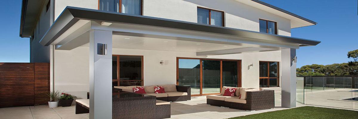 Stratco Pavilion Grande & Slique Alfresco